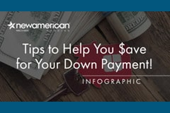Tips to Help You Save for Your Down Payment Infographic