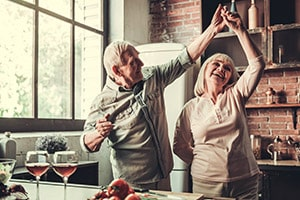 older couple dancing | reverse mortgage