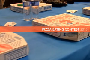 Pizza Eating Contest 2013