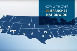 what's our secret? now with over 90 branches nationwide
