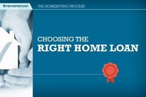 Choosing the Right Home Loan Image