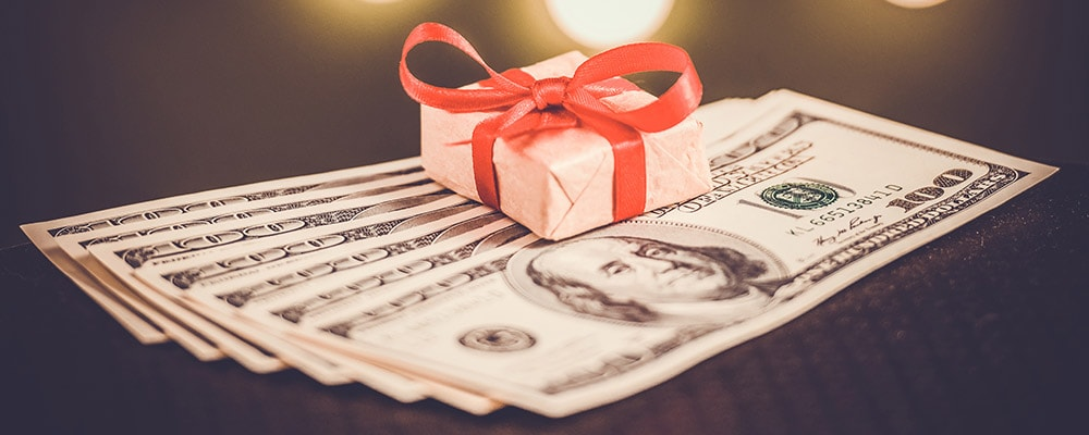 How to Accept the Gift of a Down Payment