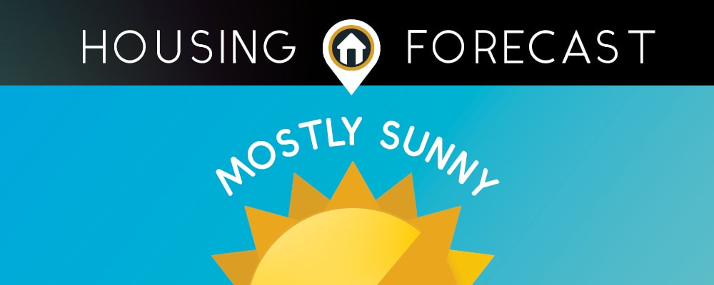 Housing Forecast: Mostly Sunny