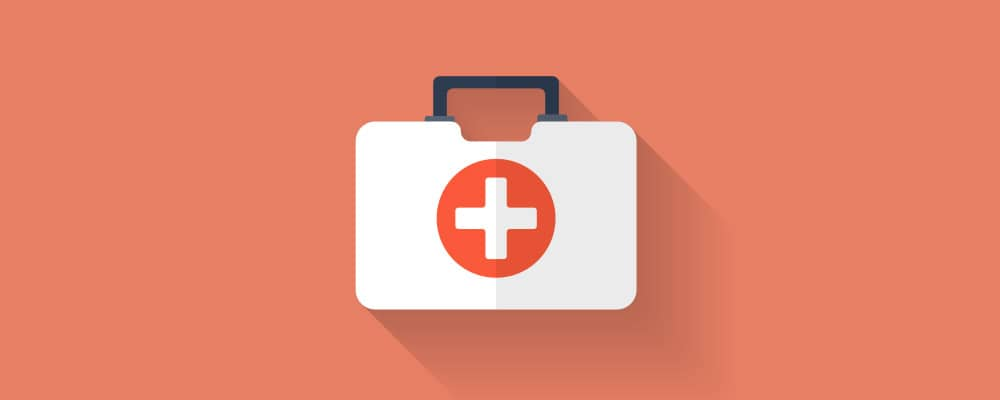 medical kit illustration