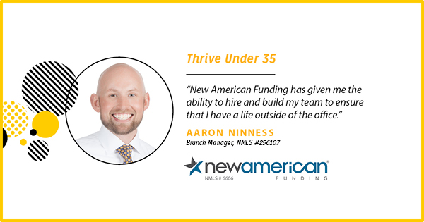 Aaron Ninness – Thrive Under 35