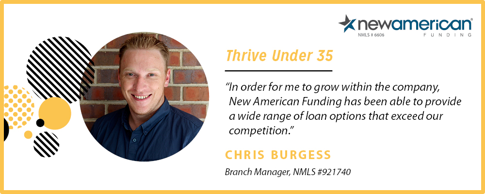 Chris Burgess – Thrive Under 35