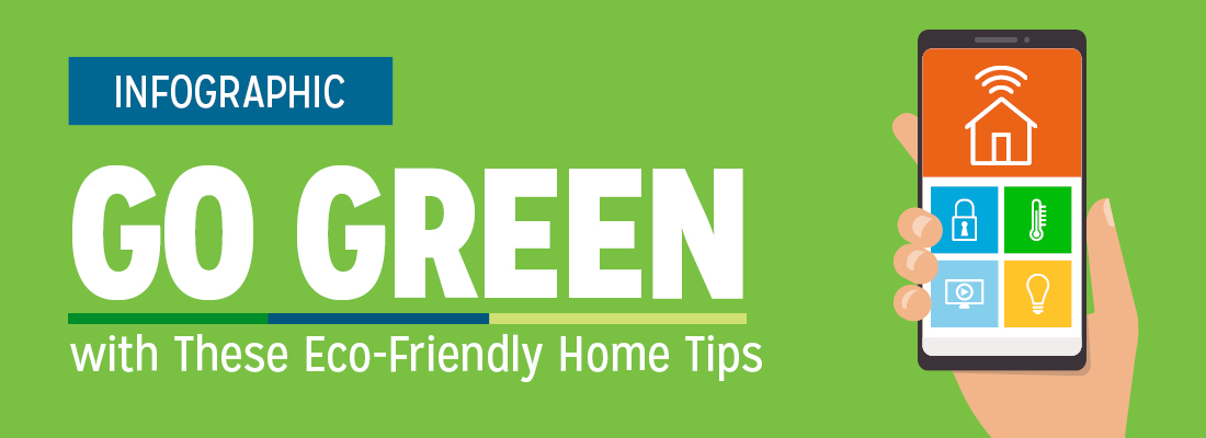 Go Green with These Eco-Friendly Home Tips Infographic