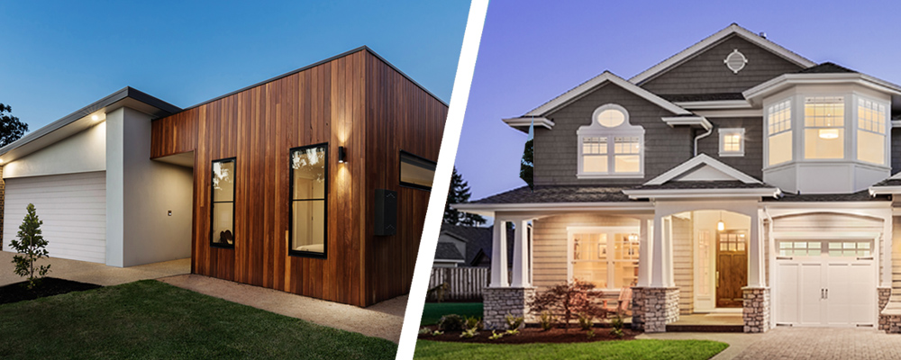 Craftsman vs. Contemporary