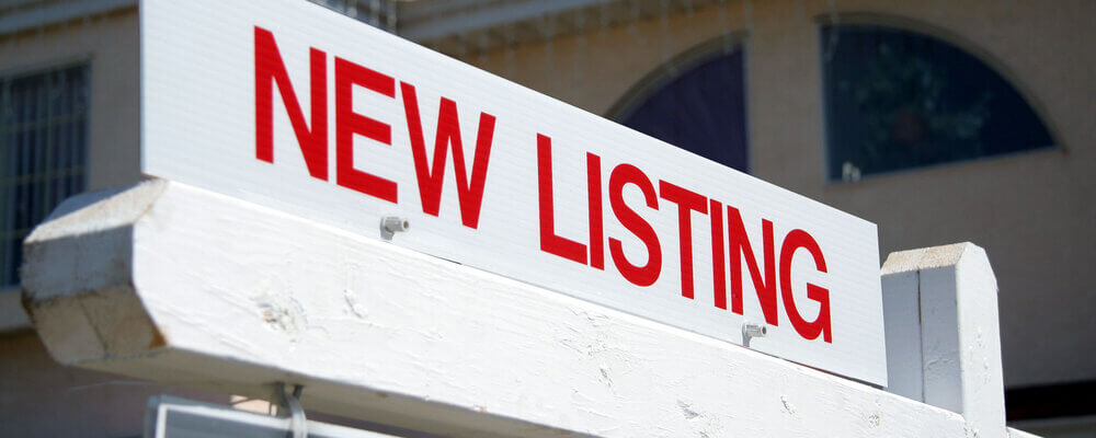 New listing sign | More Homes Hitting the Market at Just the Right Time