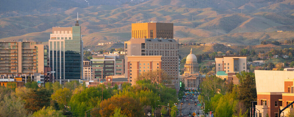 Boise skyline| Idaho is About to Have the Nation's Hottest Housing Markets