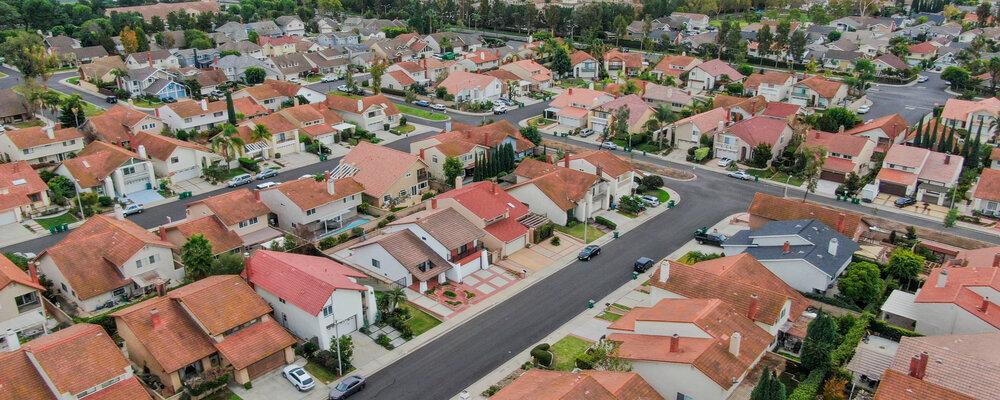 Neighborhood houses | Housing Market Frenzy May Be Calming Down