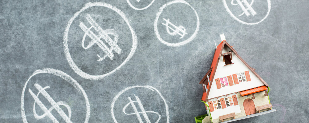House money on chalkboard | House Prices Continue to Climb