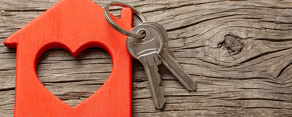 Heart house key | Home Sales Slow Record Pace