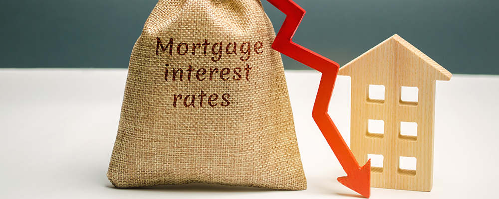 Interest Rate Fall House | Mortgage Rates Record Low