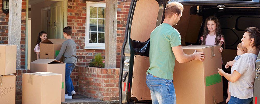 Family moving | More House for Your Money Move to a New City