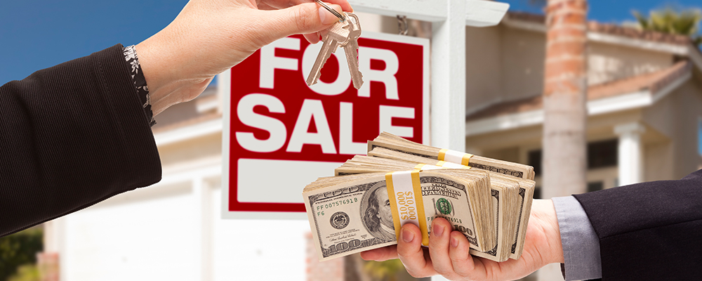 For Sale sign money | Homeowners Sold Made 70000
