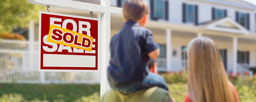 Sold sign | Home Sales Closed 2020 at Strong Pace
