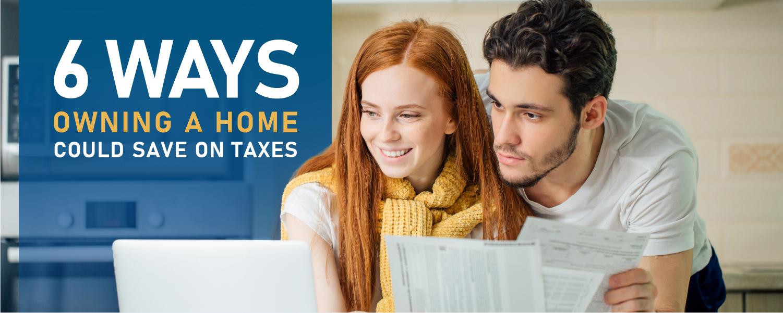 Homeowner Couple | Saving on Taxes