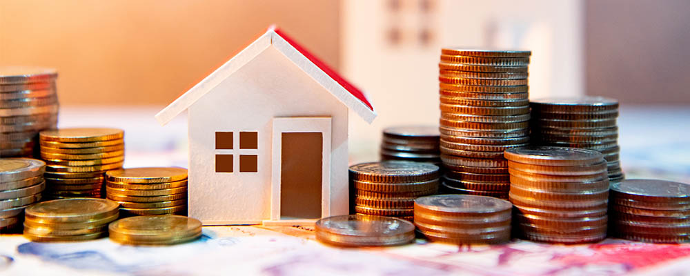 House coins | Mortgage Lending Hit 20-Year High at End of 2020