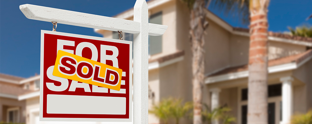 Home sold sign | Lack of Inventory Slows Existing Home Sales
