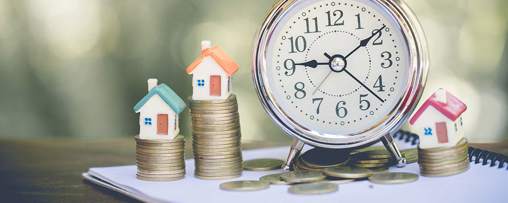 Houses coins clock  Homes are Selling Almost Twice as Fast as Last Year