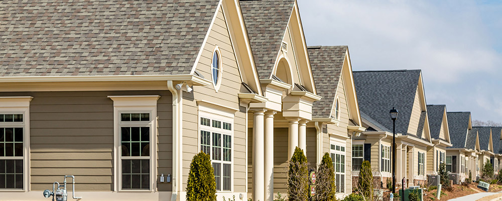 Row of houses | Home Sales Slowdown Likely to Continue