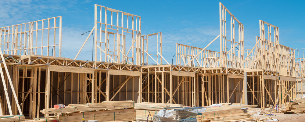 New house construction | New Home Construction Continues Rising, But So Do Prices