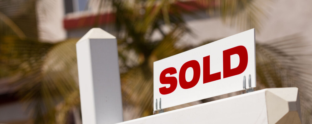 Home sold sign | Existing Home Sales Continue to Bounce Back