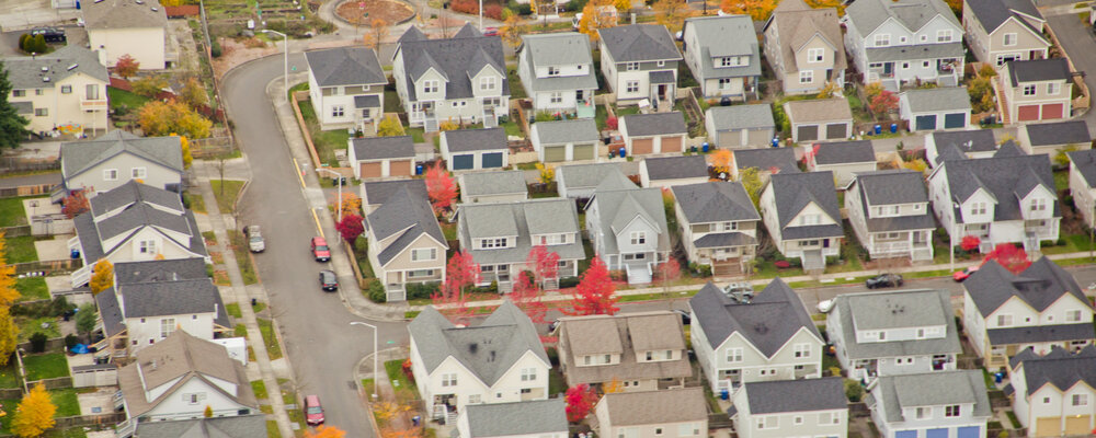 Neighborhood houses | Interest in Buying a Home Rises to Highest Level Since April